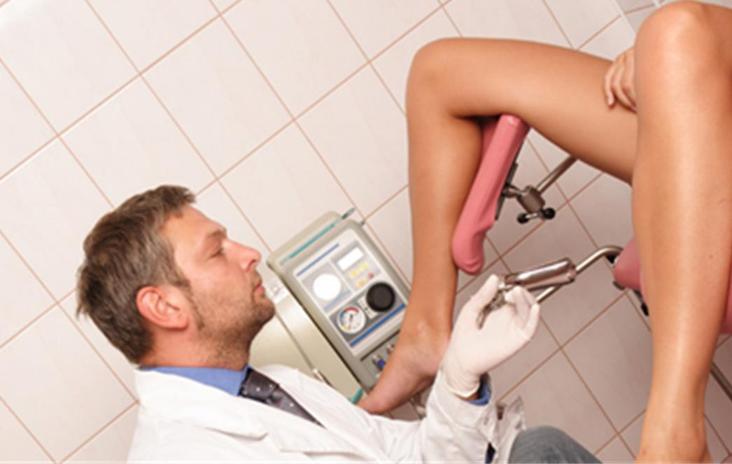 женщина у гинеколога фото
