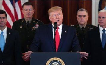 Prezydent Donald Trump wypowiedział się na temat zeszłonocnego ataku sił Irańskich na bazy Stanów Zjednoczonych położonych w Iraku.