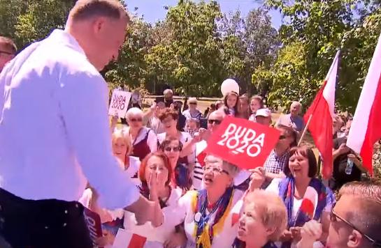 Andrzej Duda zaatakowany