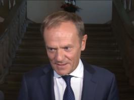 Donald Tusk o rządzie PiS
