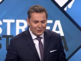 Michał Adamczyk z Wiadomości TVP