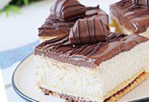 Przepis na ciasto kinder Bueno