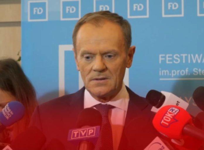 Donald Tusk znów o opozycji