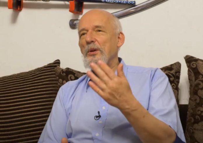 Korwin-Mikke o wydarzeniach na Białorusi
