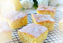 Przepis na ciasto cytrynowe
