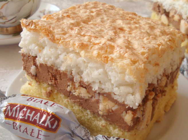 Przepis na ciasto z michałkami