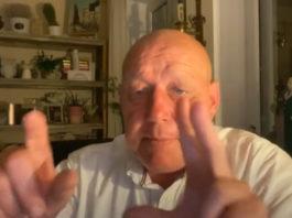 Krzysztof Jackowski podczas wizji