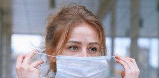Koronawirus i za długie noszenie maseczki