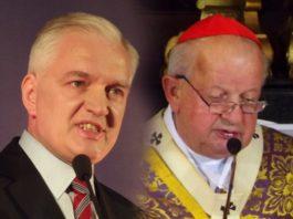 Jarosław Gowin i Stanisław Dziwisz