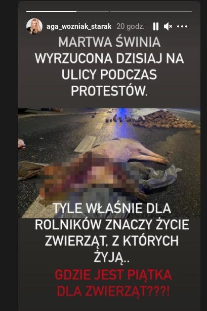 Agnieszka Woźniak-Starak krytykuje
