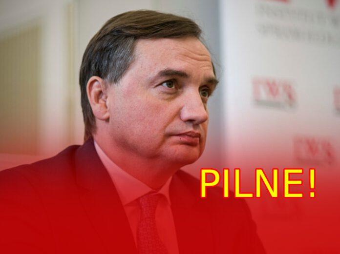 Zbigniew Ziobro zwołuje zarząd