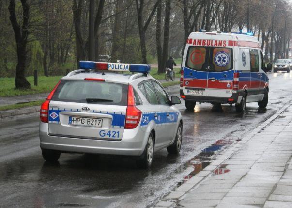 pogotowie, policja, wypadek