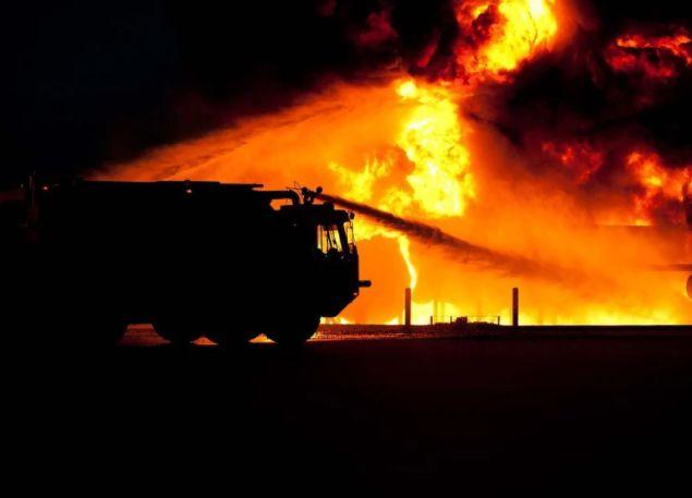 pożar szkoła straż pożarna