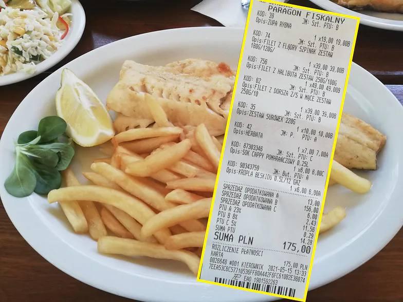 cena obiad