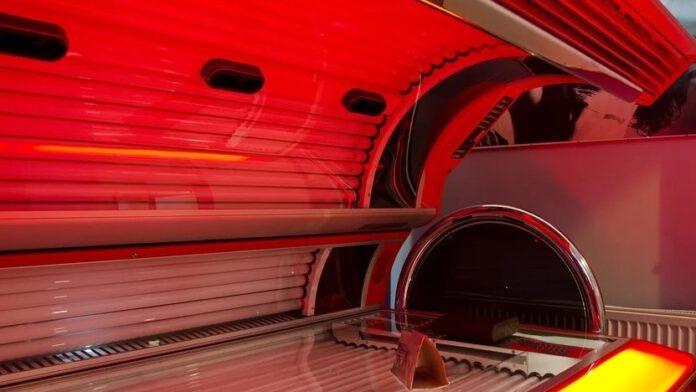 makabryczne odkrycie w solarium