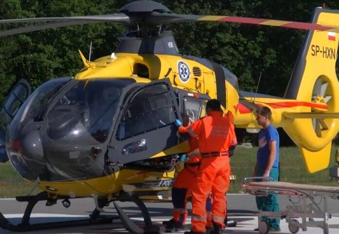 wypadek lotnicze-pogotowie-ratunkowe
