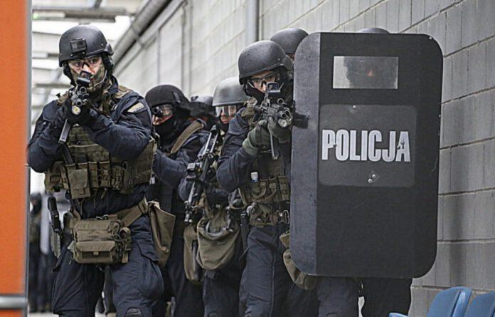 policja antyterroryści