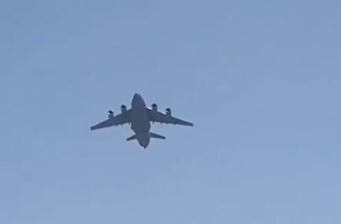 samolot afganistan kabul