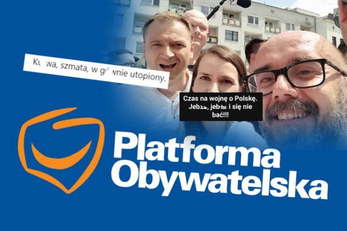 Krzysztof Szyndlarewicz z Platformy Obywatelskiej dał popis chamstwa