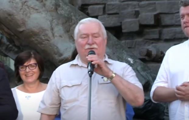 Lech Wałęsa apeluje do żony