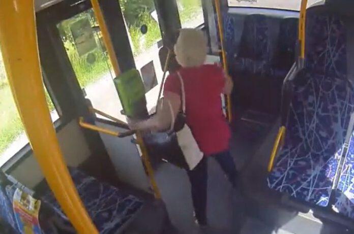 policja poszukuje kobietę z nagrania