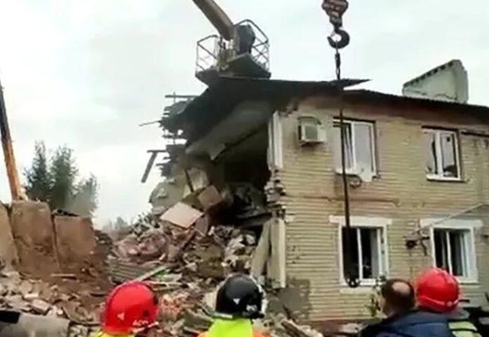 wybuch gazu w bloku